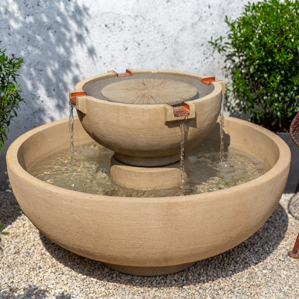 Small Del Rey Garden Fountain - Soothing Company