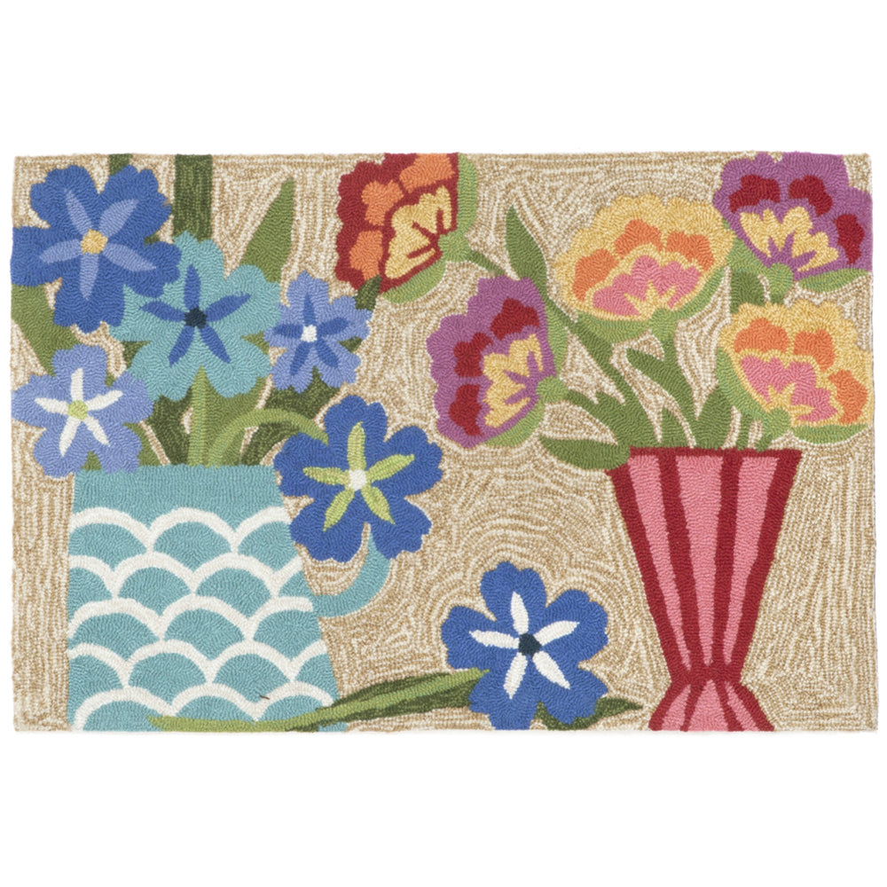 Liora Manne Frontporch Still Life  Multi Colors Area Rug - Soothing Company