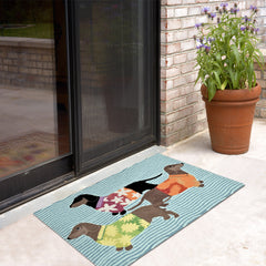 Liora Manne Frontporch Tropical Hounds Area Rug - Soothing CompanyLiora Manne Frontporch Tropical Hounds Area Rug - Soothing Company
