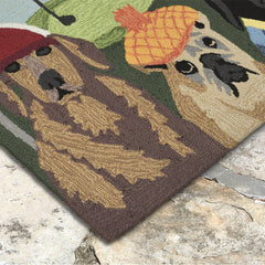 Liora Manne Frontporch Putts & Mutts Area Rug - Soothing Company