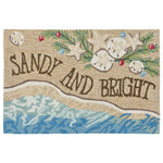 Liora Manne Frontporch Sandy & Bright Sand Area Rug - Soothing Company