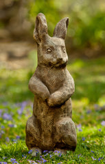 Father Rabbit Cast Stone Garden Statue - Soothing Company