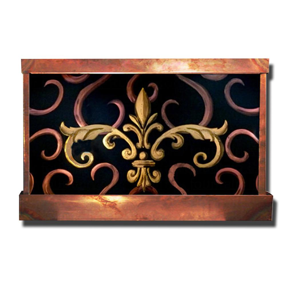 Fleur de Lis Wall Fountain - Soothing Company