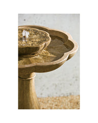 Flores Pedestal Fountain - Soothing Company