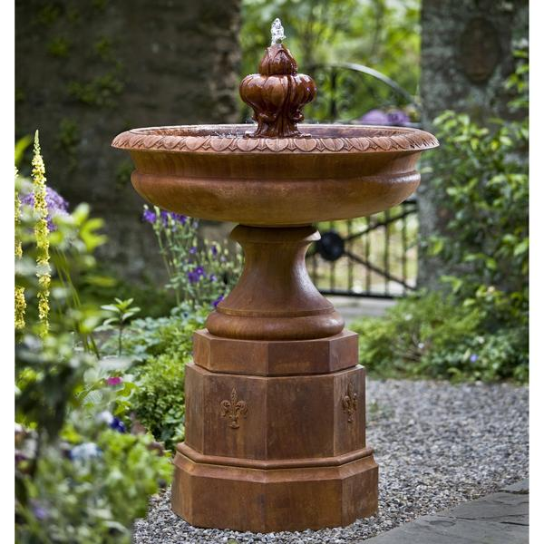 Fontainbleu Pedestal Water Fountain - Soothing Company