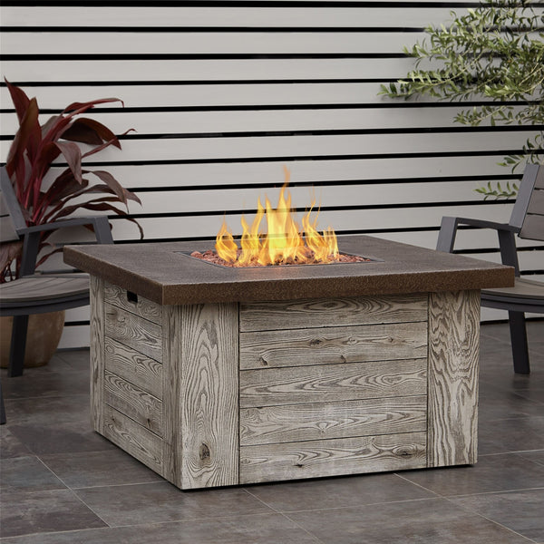 Forest Ridge Propane Fire Table with NG Conversion Kit - Soothing Company