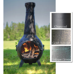 The Blue Rooster Grape Chiminea - Soothing Company