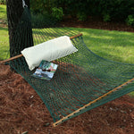 Pawleys Island Large Original DuraCord® Rope Hammock in Green - Soothing Company