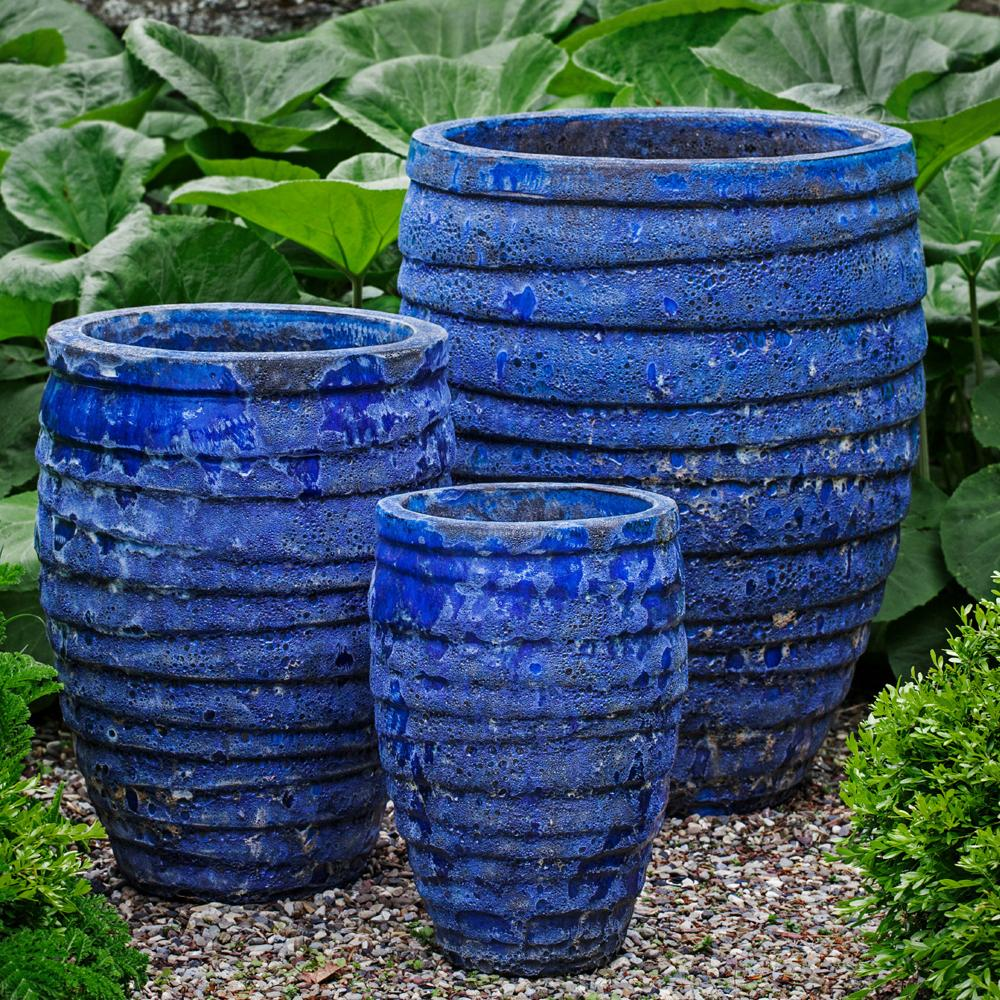 Guaracha Planter in Angkor Blue - Soothing Company