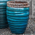 Guaracha Planter in Beachcomber Aqua - Soothing Company