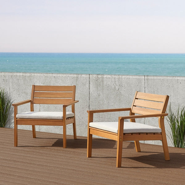 Hale Casual Chair - Set of 2 - Soothing Company