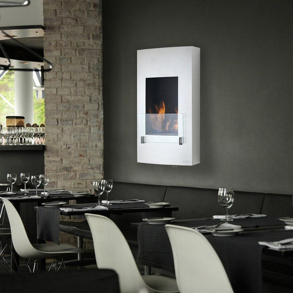 Eco-Feu Hollywood Wall Mounted Biofuel Fireplace - Soothing Company