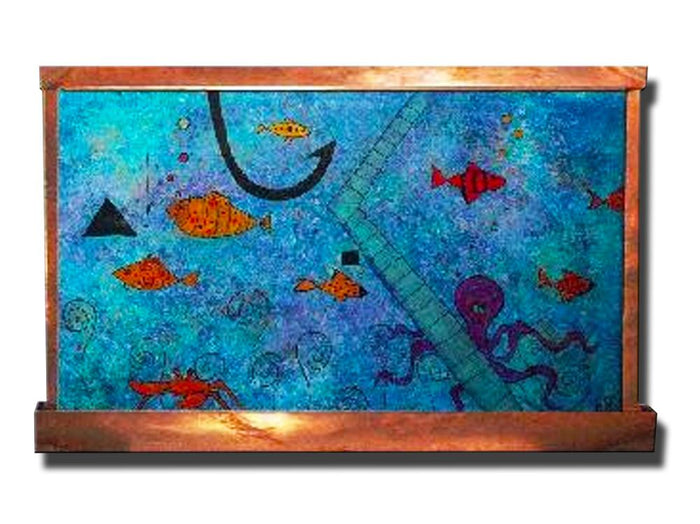 Happy Fish Wall Fountain - Soothing Company