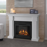 Hillcrest Electric Fireplace in White - Soothing Company