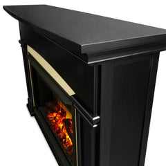 Holbrook Grand Electric Fireplace in Black - Soothing Company
