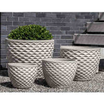 Honeycomb Planter - Set of 4 in Cream - Soothing Company