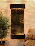 Inspiration Falls: Bronze Mirror and Blackened Copper Trim with Rounded Corners - Soothing Company