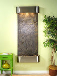 Inspiration Falls: Green FeatherStone and Rustic Copper Trim with Rounded Corners - Soothing Company
