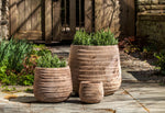Ipanema Planter - Set of 3 in Antico Terra Cotta - Soothing Company