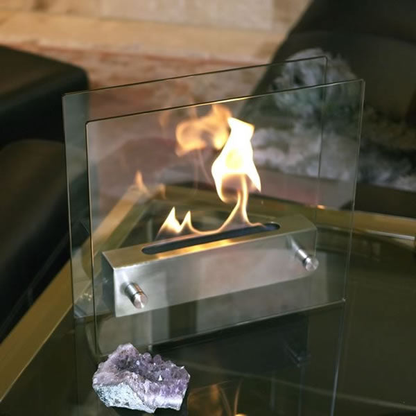Irradia Tabletop Fireplace - Soothing Company