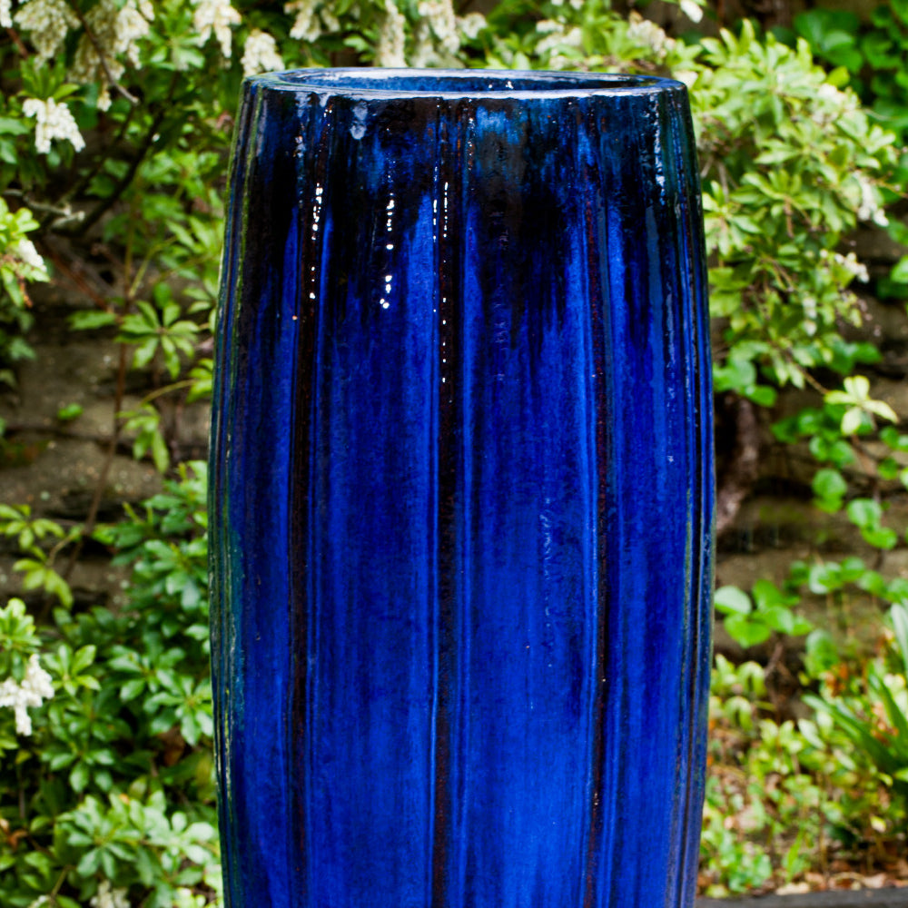 Isleta Jar in Riviera Blue - Soothing Company