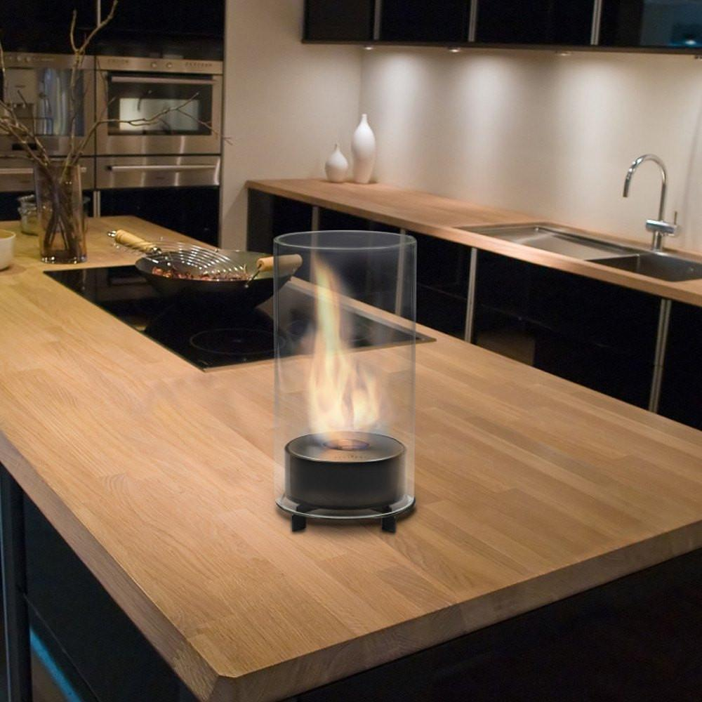 Eco-Feu Juliette Tabletop Biofuel Fireplace - Soothing Company