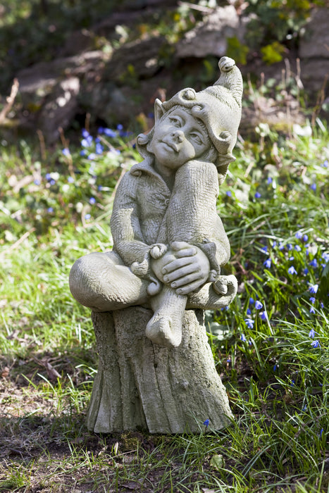 Jenny Cast Stone Garden Statue - Soothing Company