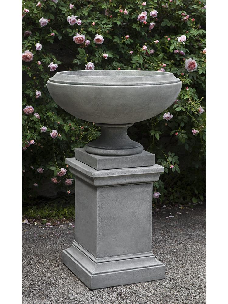 Jensen Urn Garden Planter with Pedestal (Not Included) - Soothing Company