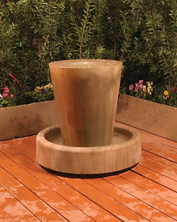 Jug Outdoor Fountain - Soothing Walls