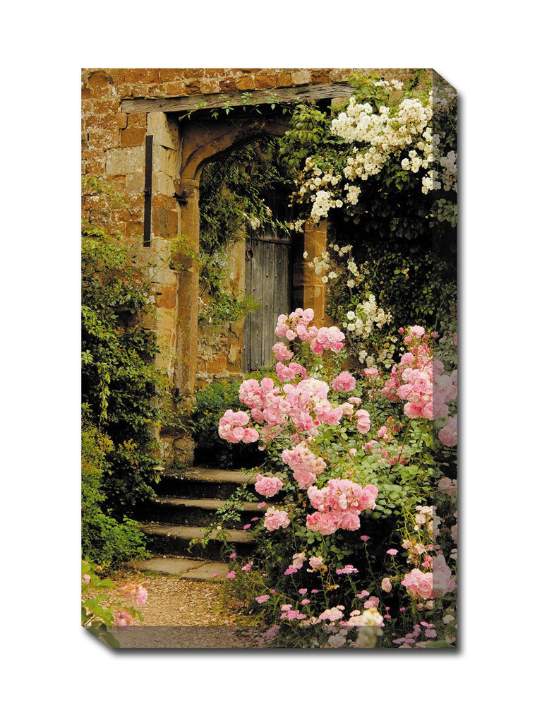 Juliet's Garden Outdoor Canvas Art