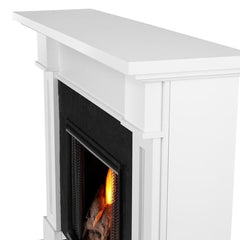 Kipling Electric Fireplace in White - Soothing Company
