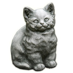 Kitty Cast Stone Garden Statue - Soothing Company