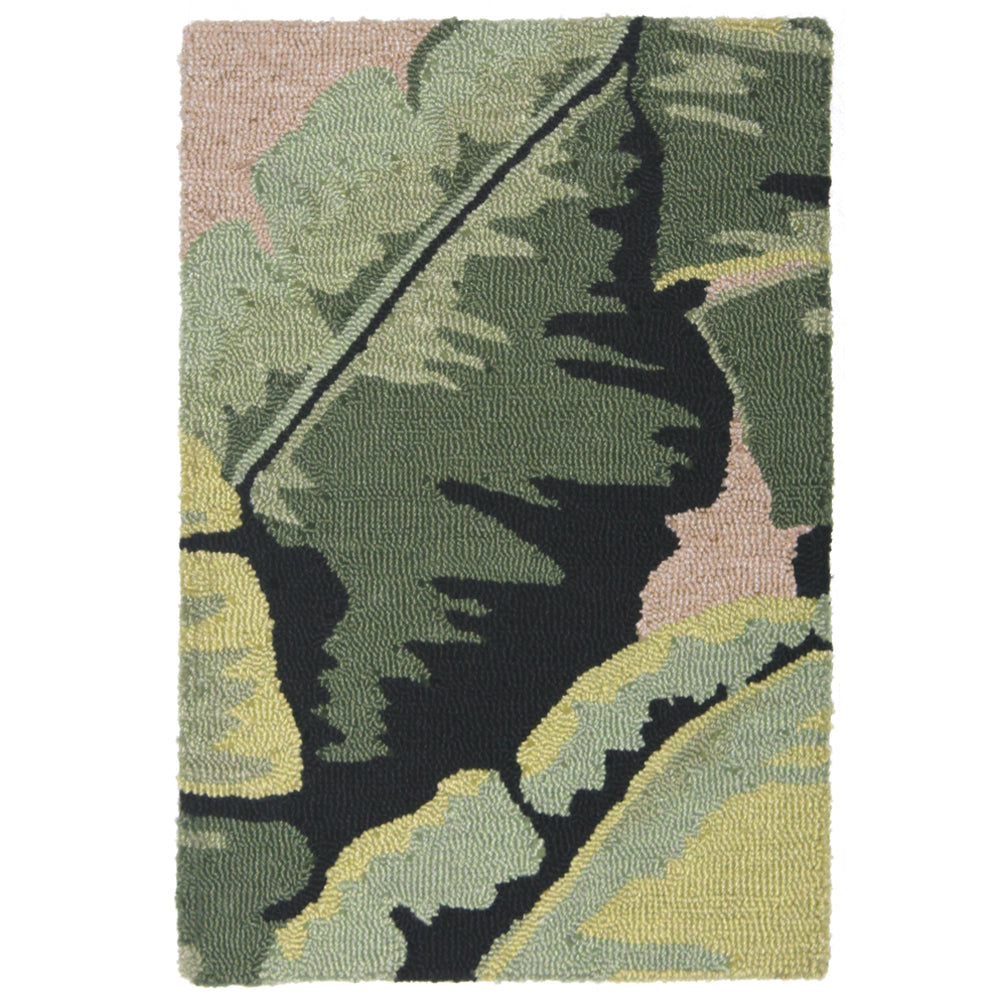 Liora Manne Lalunita Palm Green Indoor Rug - Soothing Company