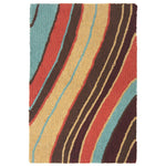 Liora Manne Lalunita Wave Indoor Rug - Soothing Company