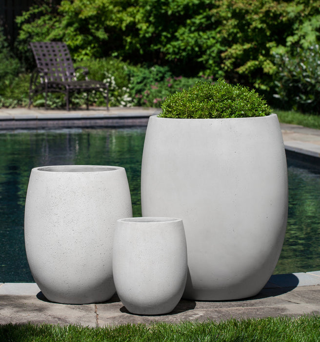 Laguna Planter in Playa Blanca - Set of 3 - Soothing Company
