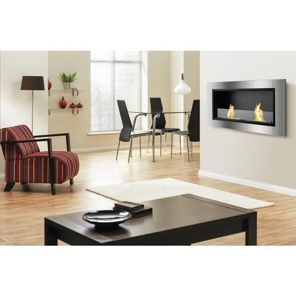 Ignis Lata Recessed Bio Ethanol Fireplace - Soothing Company