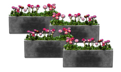 Long Geo Planter - Set of Four - Soothing Company