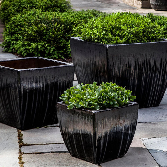 Lorimar Planter Set of 3 in Antracite - Soothing Company