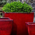 Lorimar Planter Set of 3 in Macintosh Red - Soothing Company