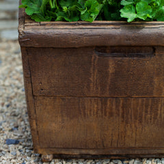 Low Square Vendange Garden Planter - Soothing Company