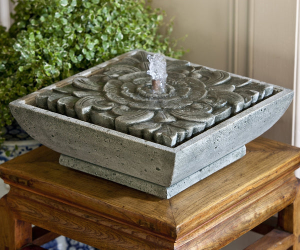 M-Series Artifact Garden Terrace Fountain - Soothing Company