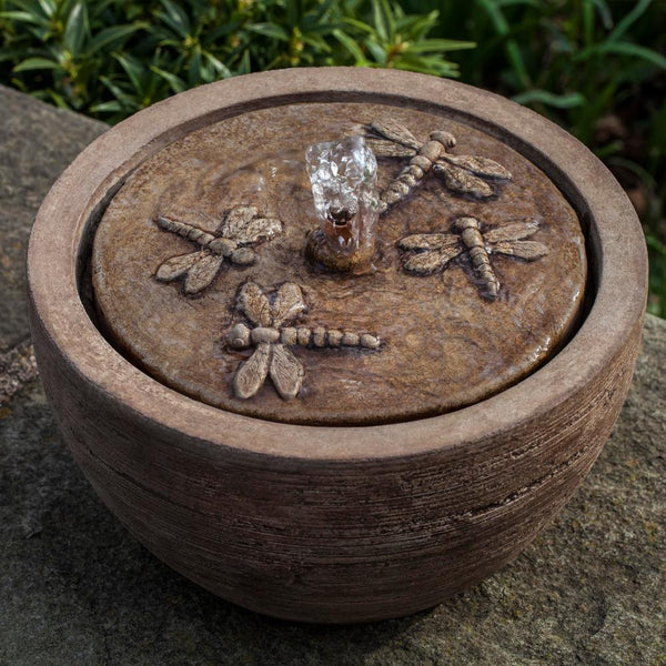 M-Series Dragonfly Garden Fountain - Soothing Company