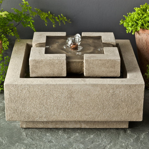 M-Series Escala Garden Terrace Fountain - Soothing Company