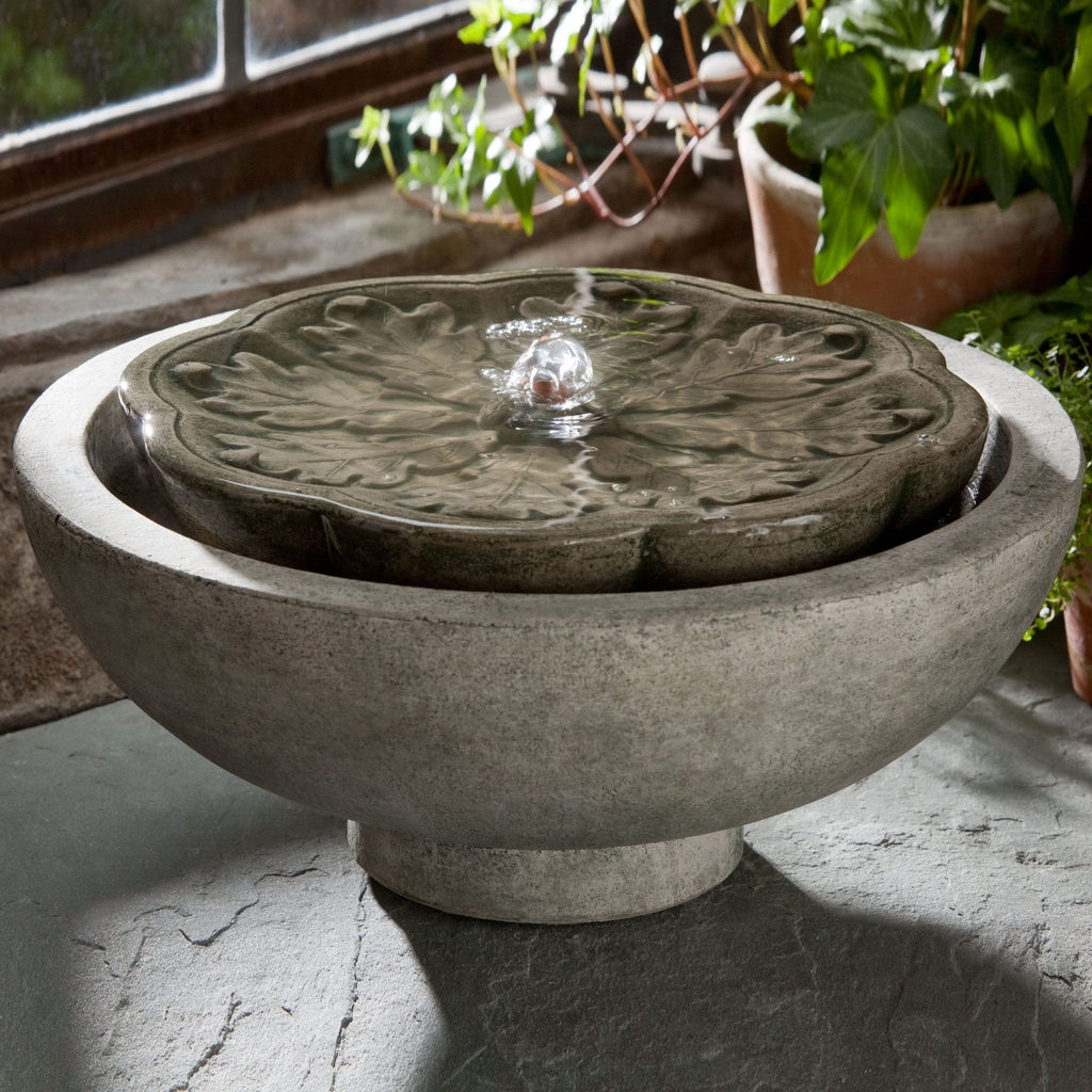 M-Series Flores Garden Terrace Fountain - Soothing Company