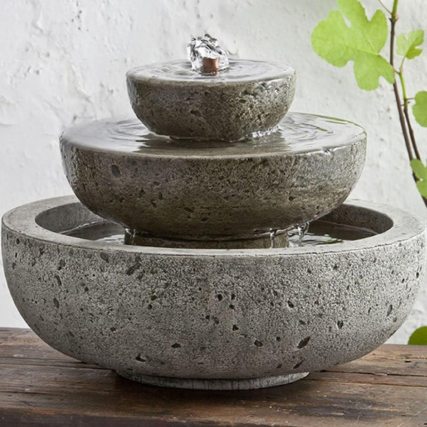 M-Series Platia Garden Terrace Fountain - Soothing Company