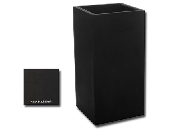 Modular Lite Planter 2 in Onyx Black Lite® - Soothing Company