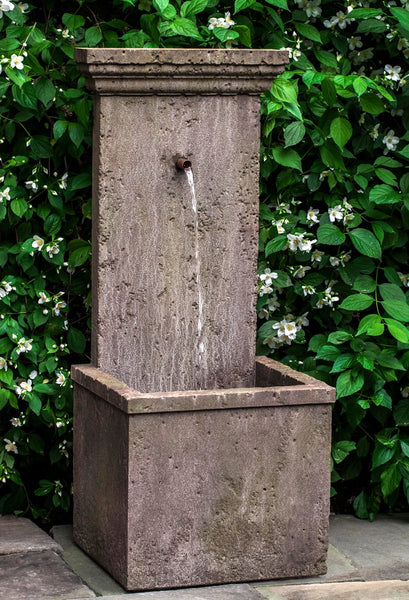 Marais Wall Outdoor Fountain - Soothing Company