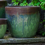 Marcel Planter - Set of 4 in Bayou Bronze - Soothing Company