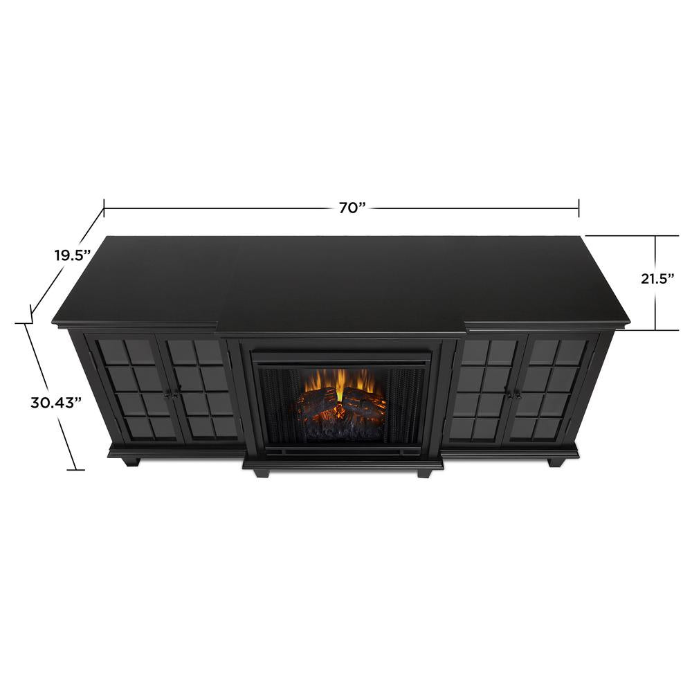 Marlowe Entertainment Electric Fireplace