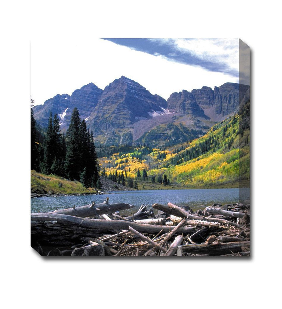Maroon Bells Canvas Wall Art
